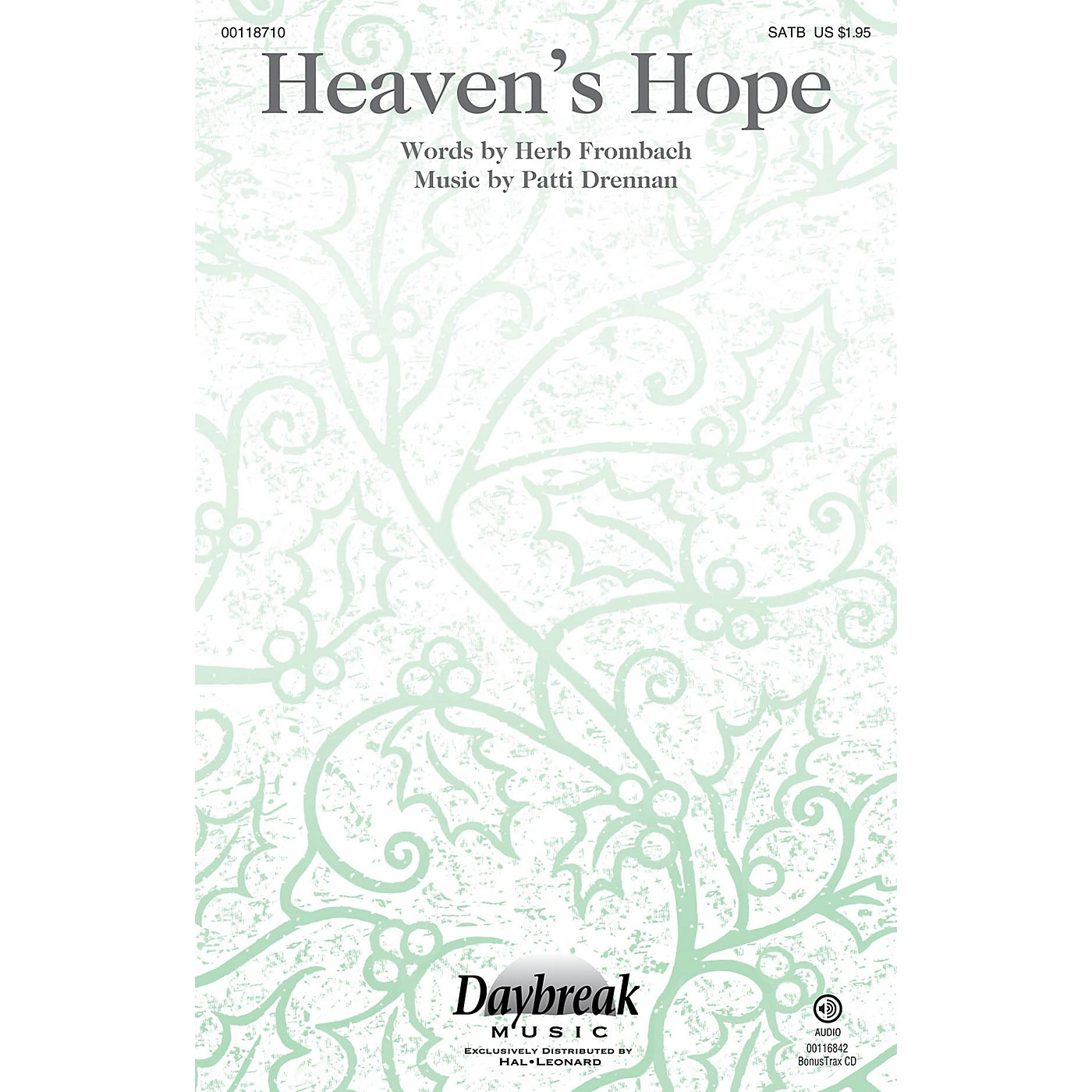 Daybreak Music Heaven's Hope SATB composed by Patti Drennan thumbnail