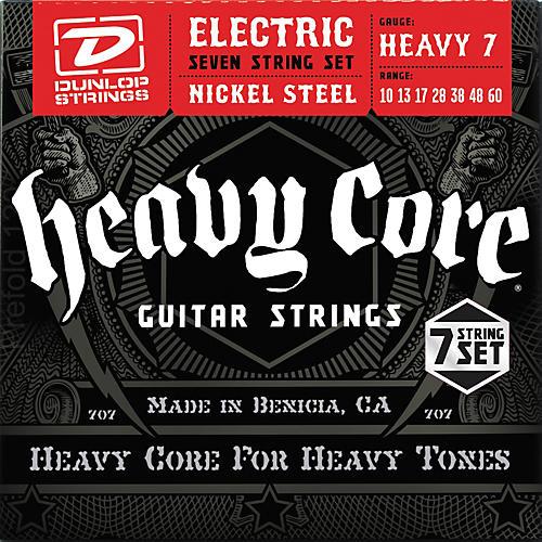 Dunlop Heavy Core 7-String Electric Guitar Strings - Heavy Gauge-thumbnail
