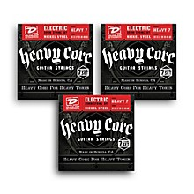 Dunlop Heavy Core 7-String Electric Guitar Strings 3-pack - Heavy Gauge