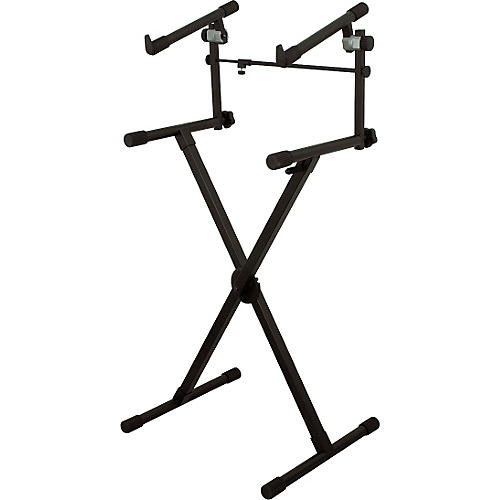On-Stage Heavy-Duty 2-Tier Keyboard X Stand thumbnail
