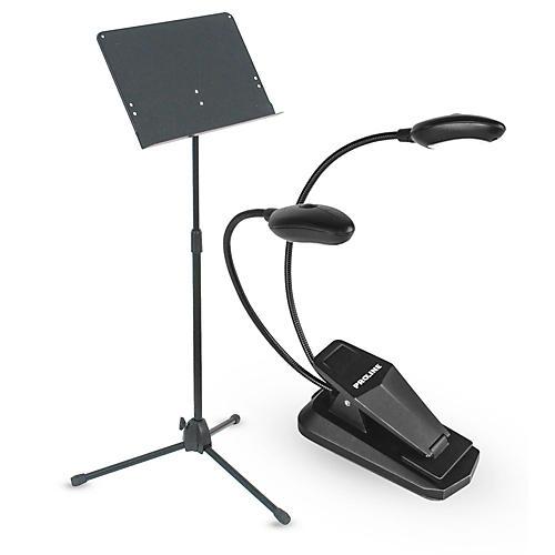 Musician's Gear Heavy Duty Music Stand & LED Light Combo thumbnail