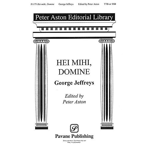 Banks Music Publications Hei Mihi, Domine TTB/SSA arranged by Peter Aston thumbnail