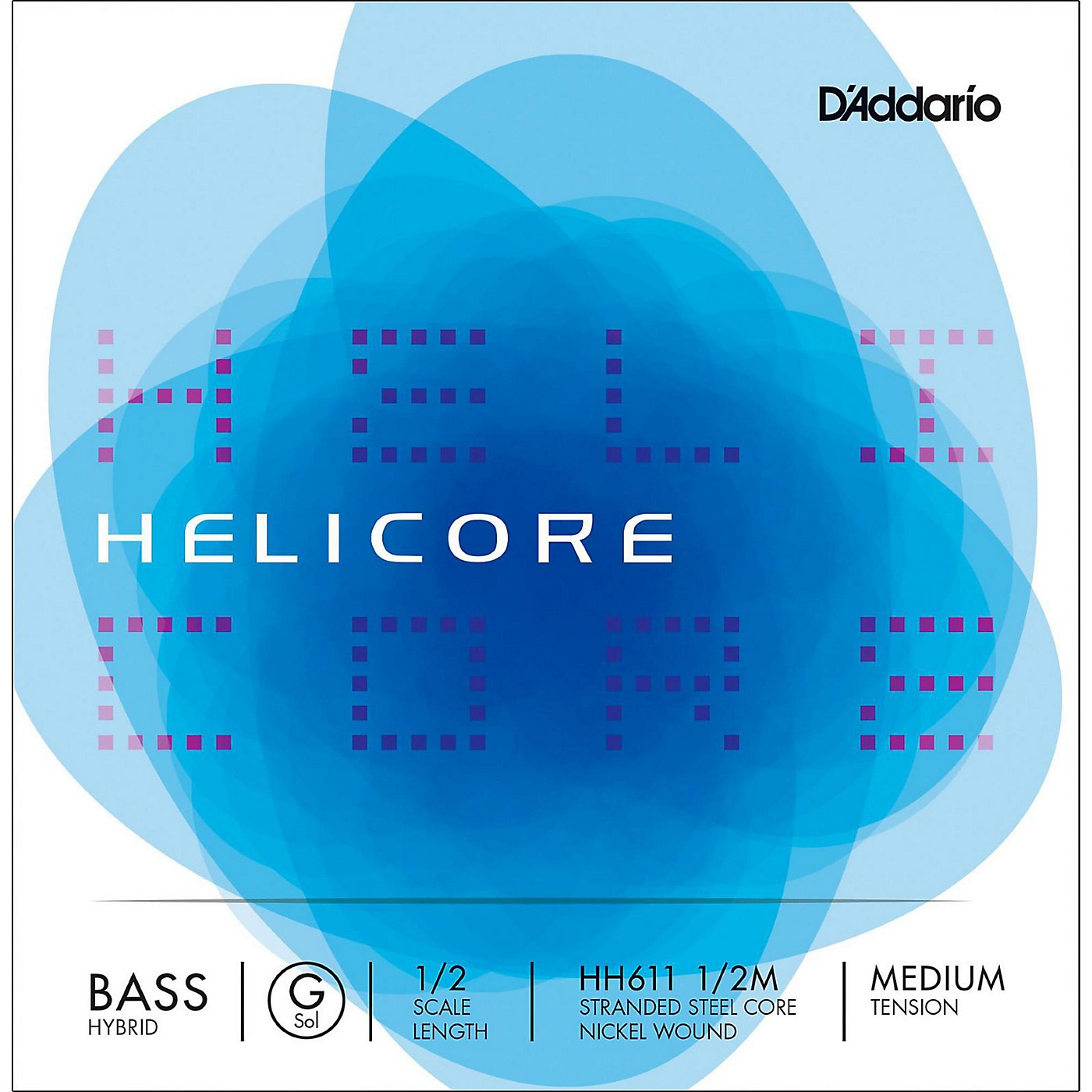 D'Addario Helicore Hybrid Series Double Bass G String thumbnail
