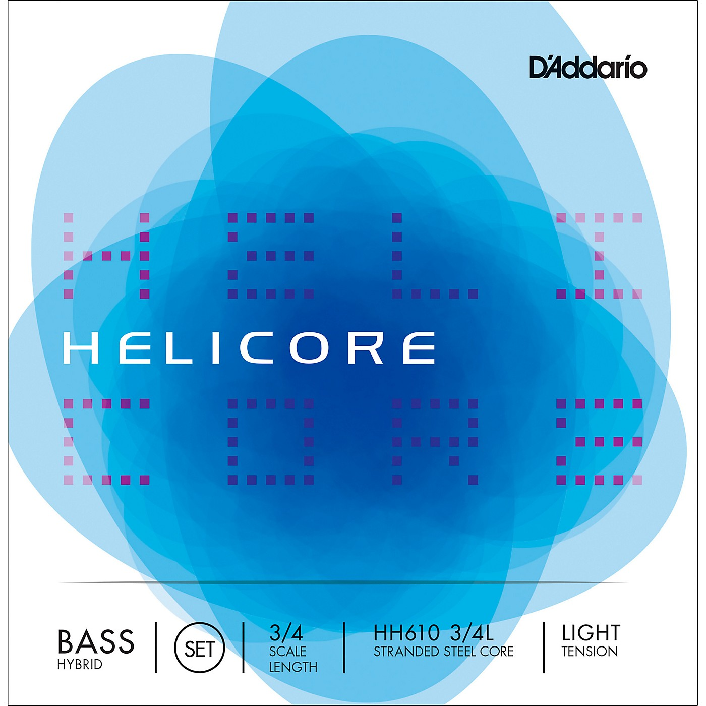 D'Addario Helicore Hybrid Series Double Bass String Set thumbnail