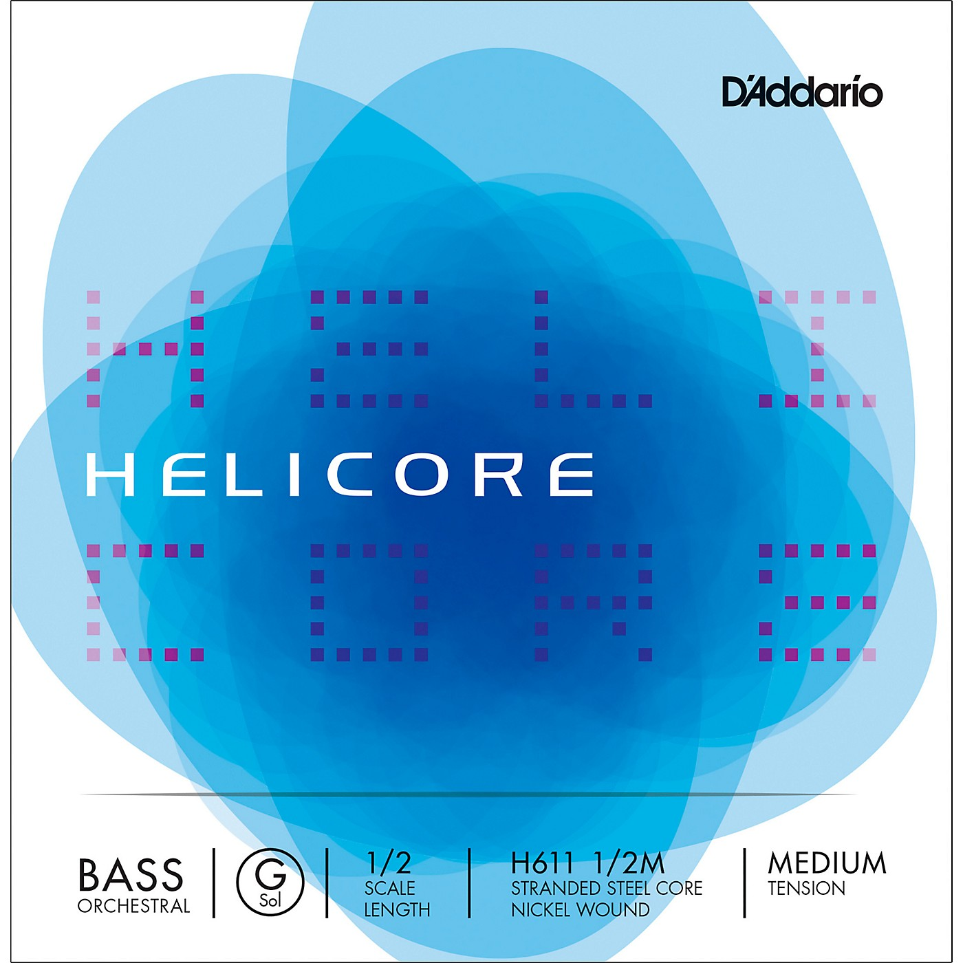 D'Addario Helicore Orchestral Series Double Bass G String thumbnail