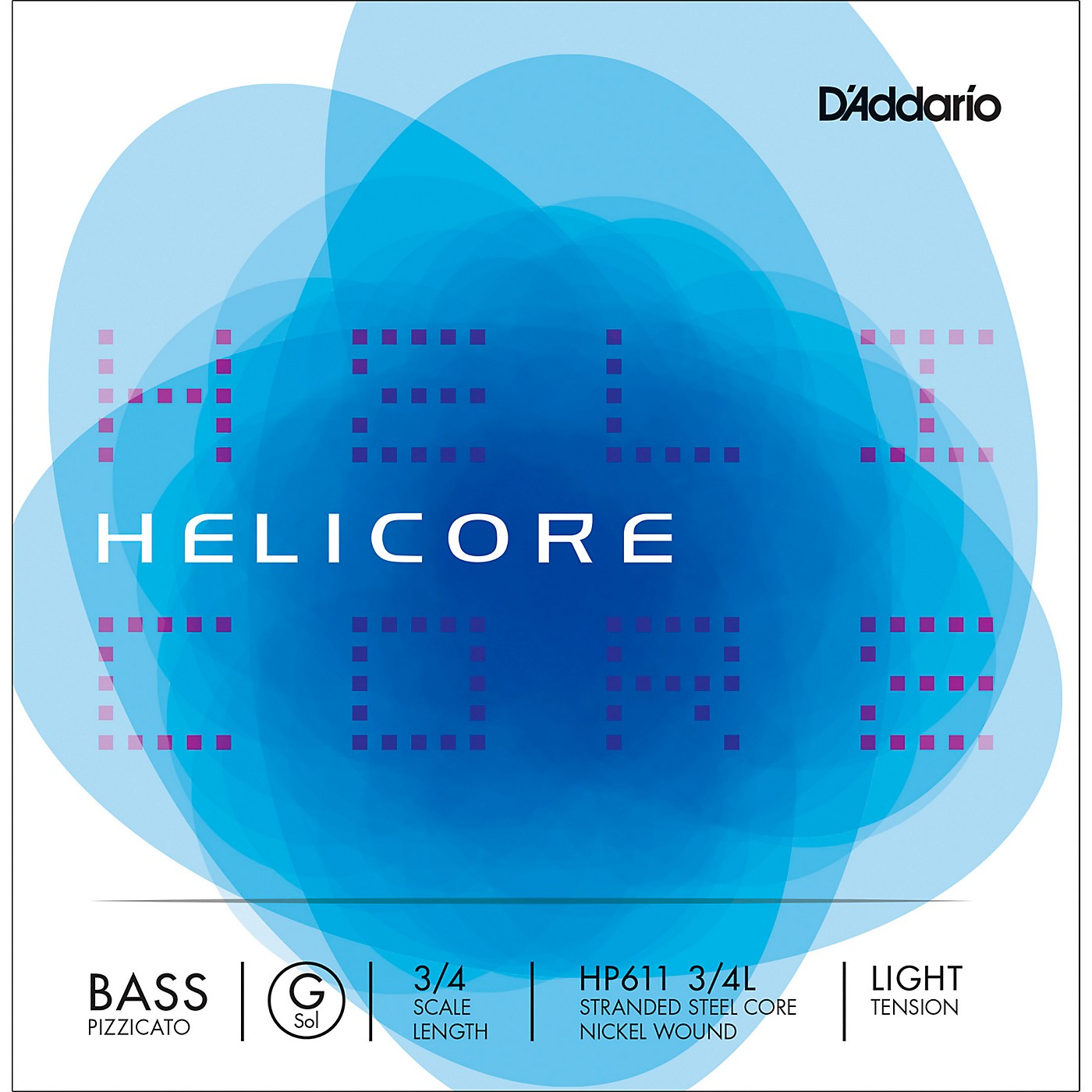 D'Addario Helicore Pizzicato Series Double Bass G String thumbnail