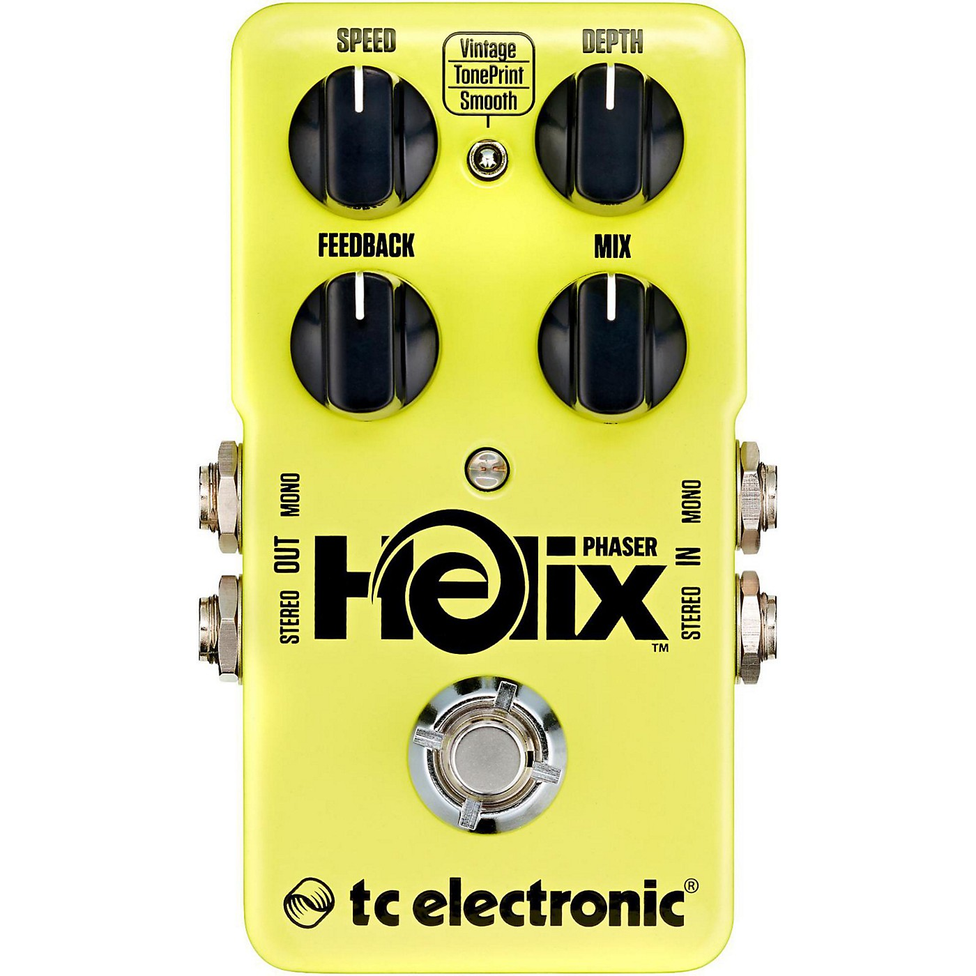 TC Electronic Helix Phaser True Bypass Guitar Effects Pedal thumbnail
