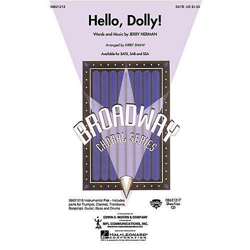 Hal Leonard Hello, Dolly! SSA Arranged by Kirby Shaw thumbnail