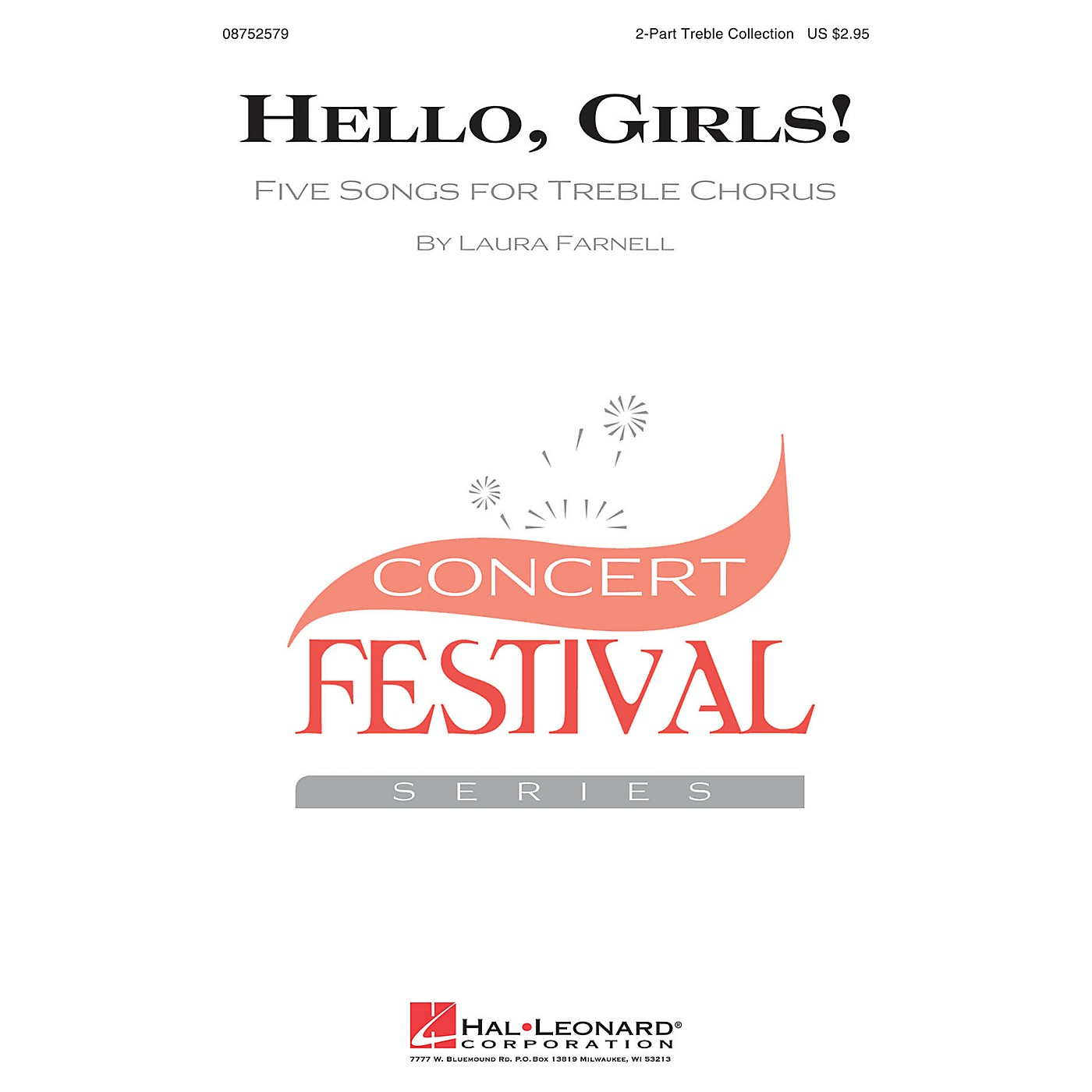 Hal Leonard Hello, Girls! (Five Songs for Treble Chorus) 2-PART TREBLE COLLECTION arranged by Laura Farnell thumbnail