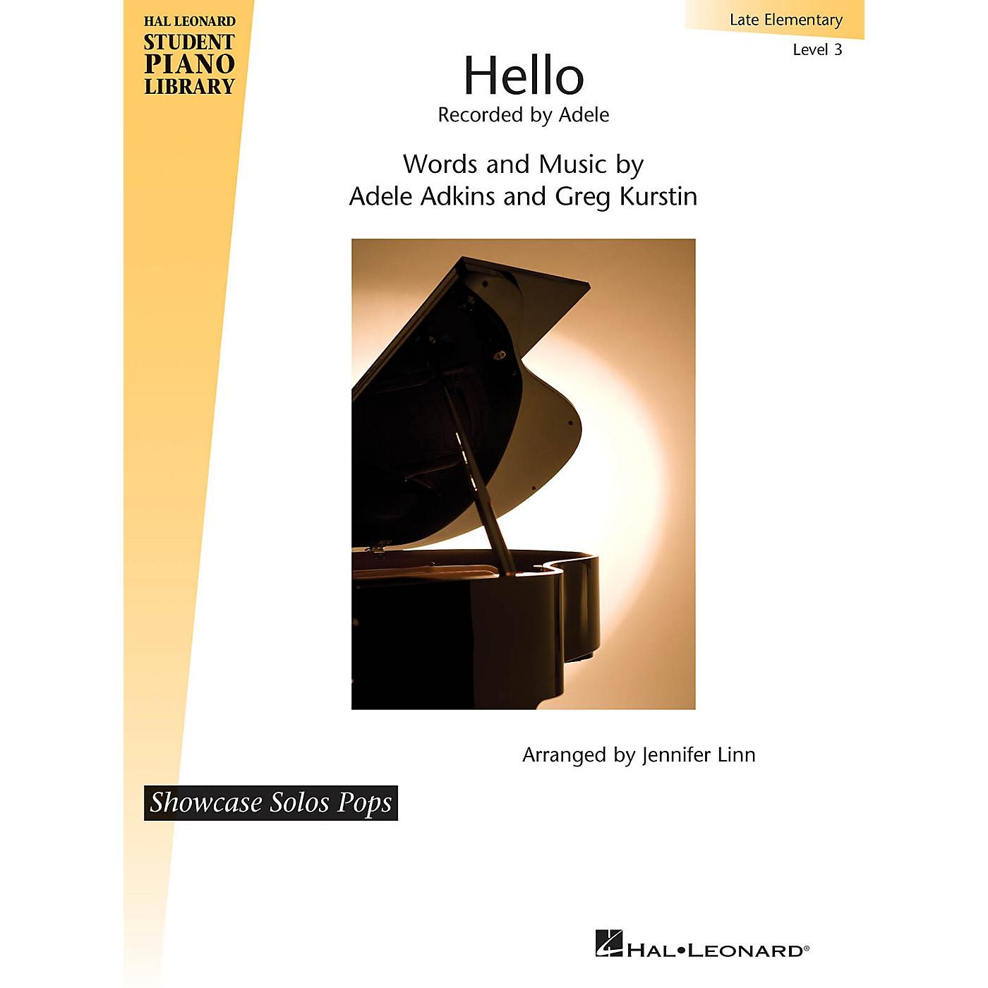 Hal Leonard Hello Piano Library Series Book by Greg Kurstin (Level Late Elem) thumbnail