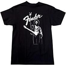 Fender Hendrix Peace Monochrome T-Shirt