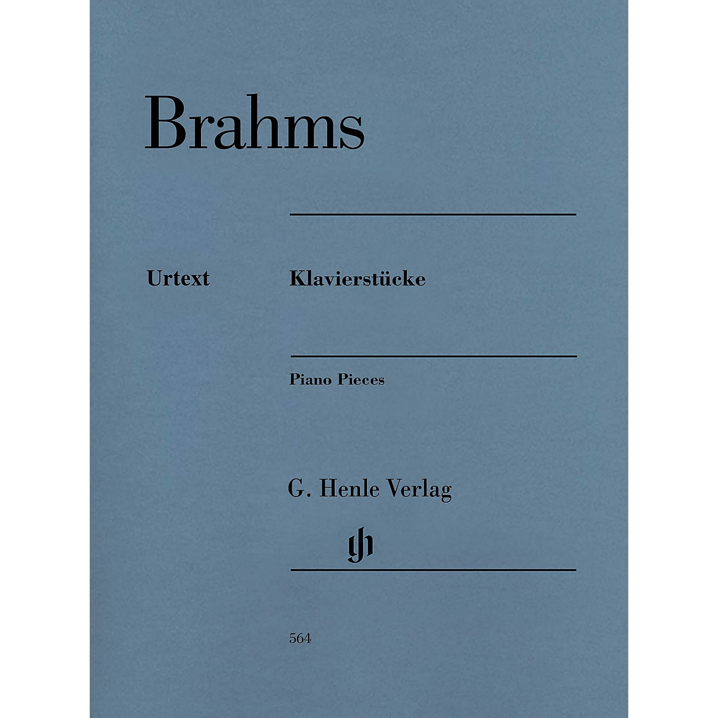 G. Henle Verlag Henle Music Folios Series: Klavierstucke [Piano Pieces] (Revised Edition) Softcover Book thumbnail