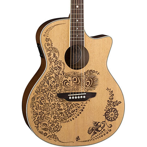 Luna Guitars Henna Oasis Select Spruce Acoustic-Electric Guitar thumbnail
