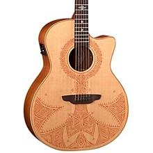 Luna Guitars Henna Sahara Acoustic-Electric Guitar