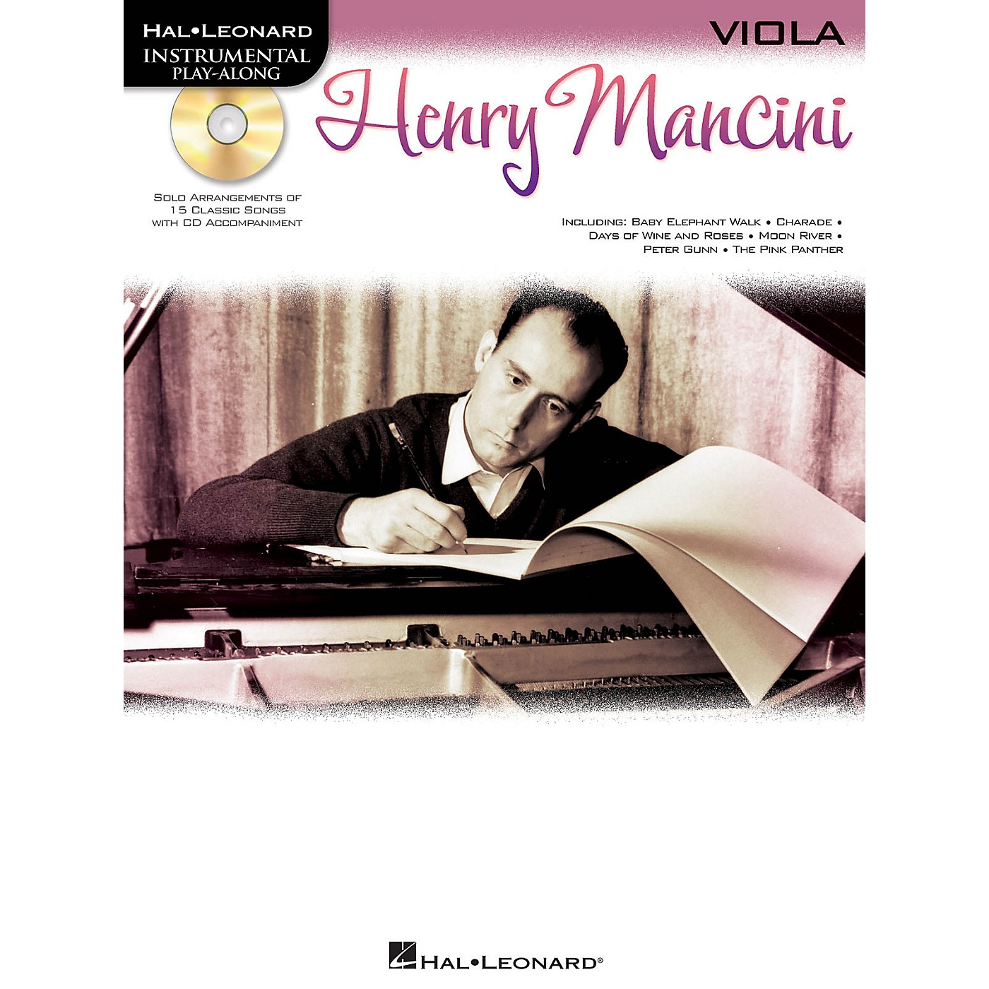 Hal Leonard Henry Mancini (Instrumental Play-Along for Viola) Instrumental Play-Along Series Softcover with CD thumbnail