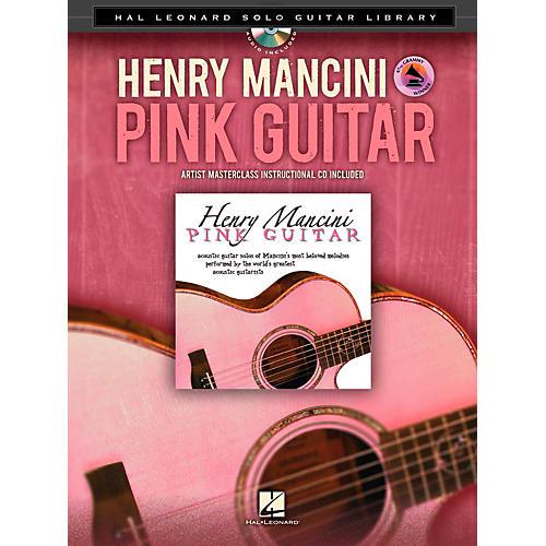 Hal Leonard Henry Mancini: Pink Guitar - Hal Leonard Solo Guitar Library Book/CD thumbnail