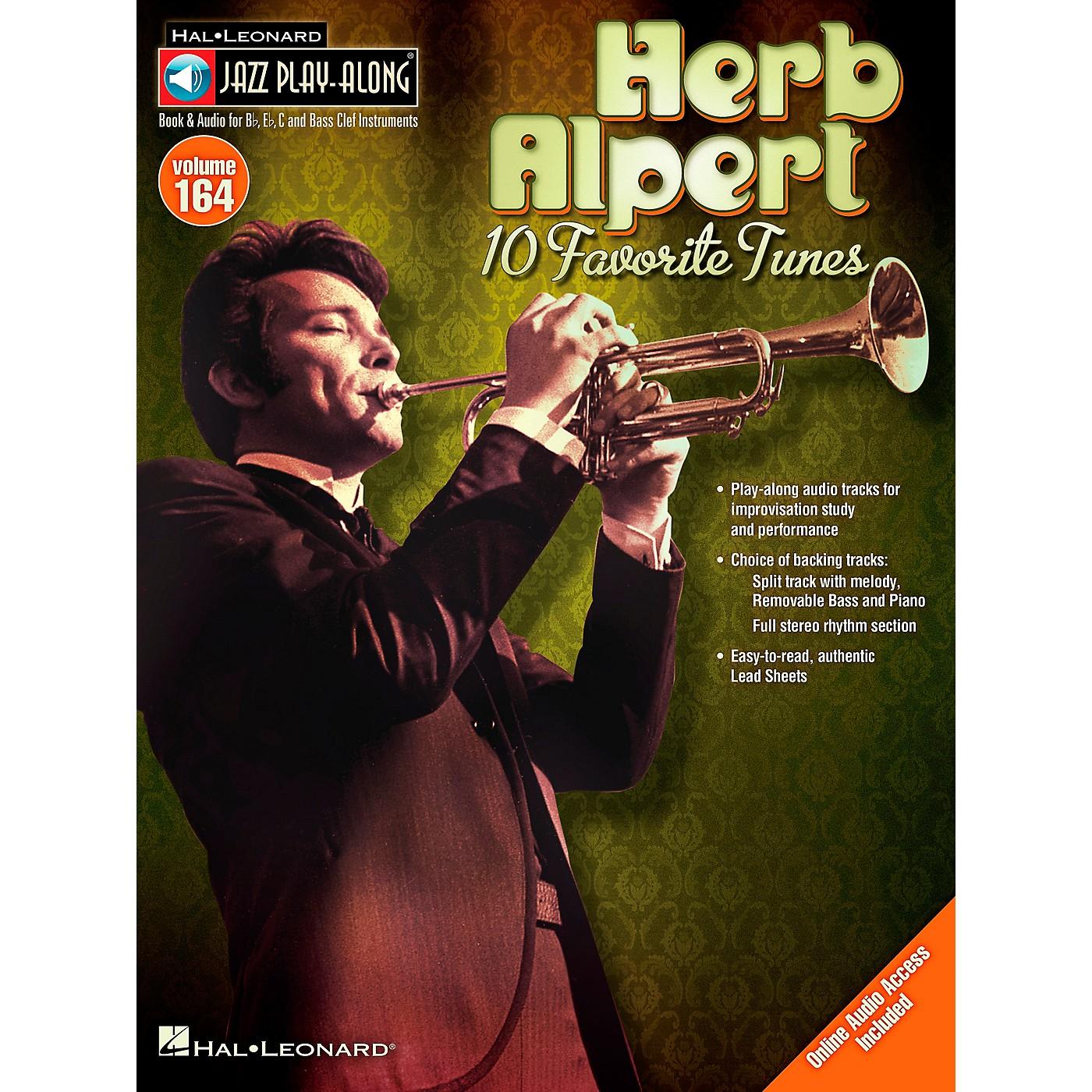 Hal Leonard Herb Alpert - Jazz Play-Along Volume 164 Book/CD thumbnail
