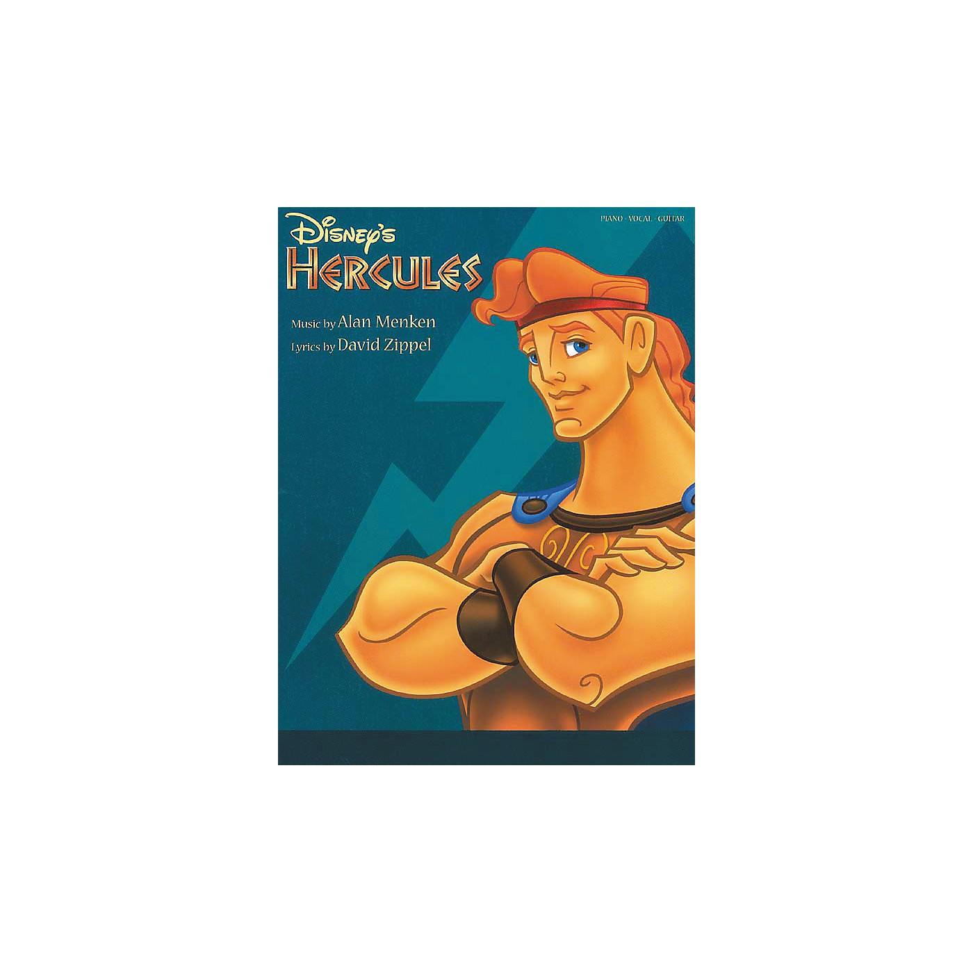 Hal Leonard Hercules Piano, Vocal, Guitar Songbook thumbnail