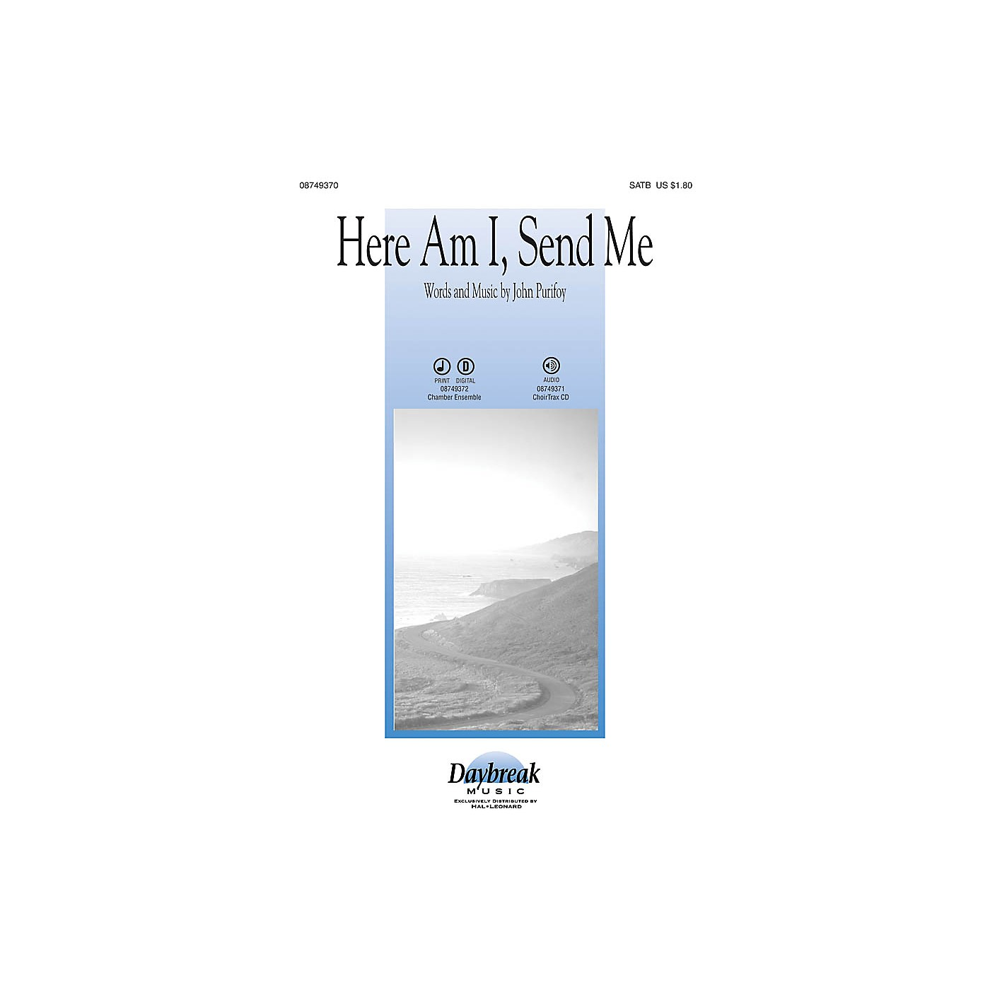 Daybreak Music Here Am I, Send Me Instrumental Pak - Special Arranged by John Purifoy thumbnail