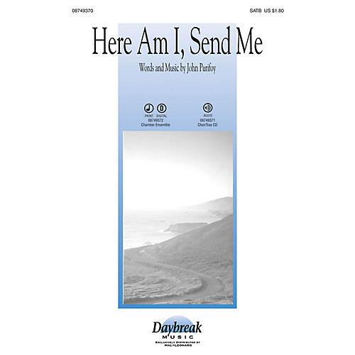 Daybreak Music Here Am I, Send Me SATB arranged by John Purifoy thumbnail