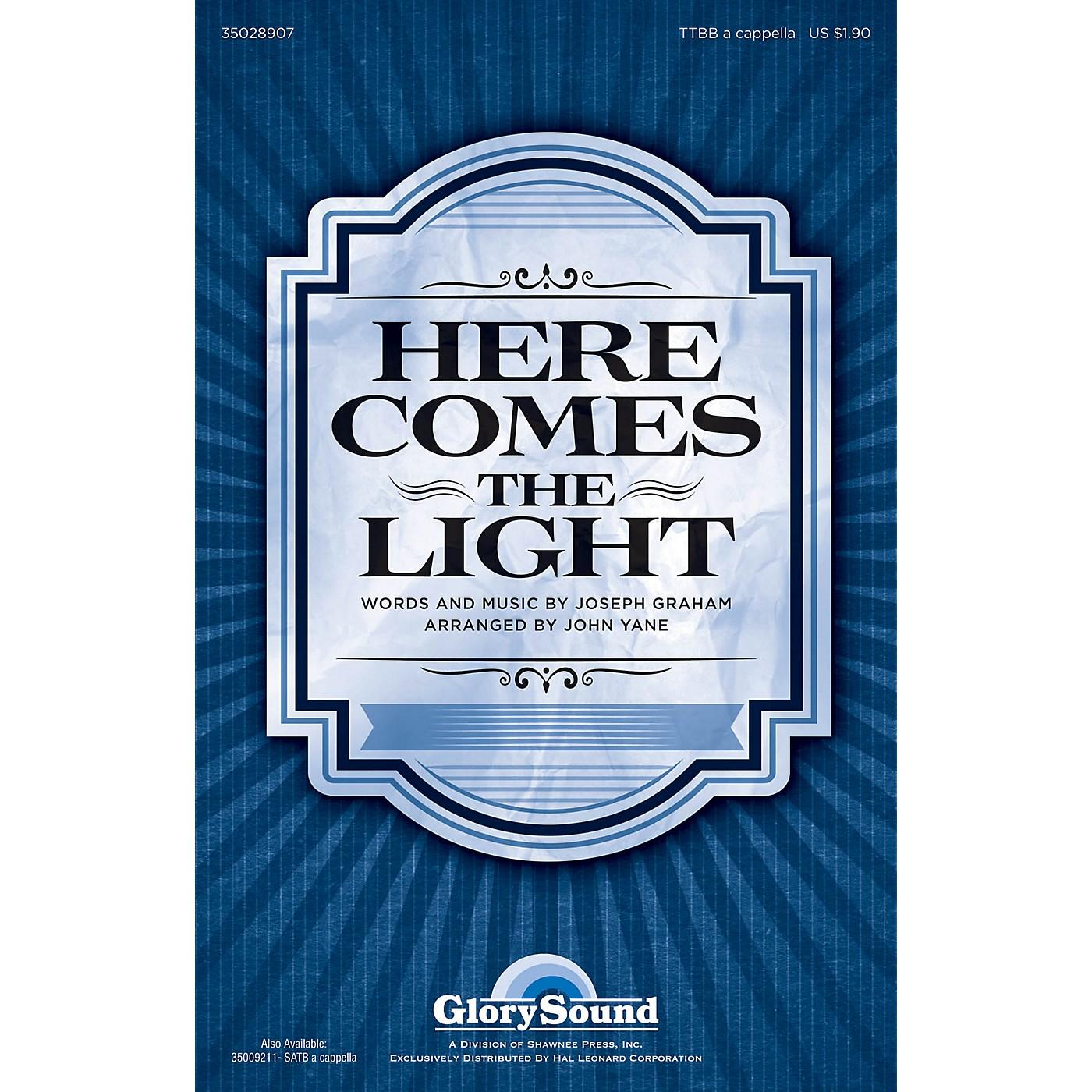 Shawnee Press Here Comes the Light TTBB A Cappella arranged by John Yane thumbnail