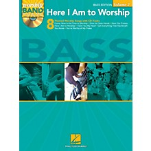 Hal Leonard Here I Am to Worship - Bass Edition Worship Band Play-Along Series Softcover with CD