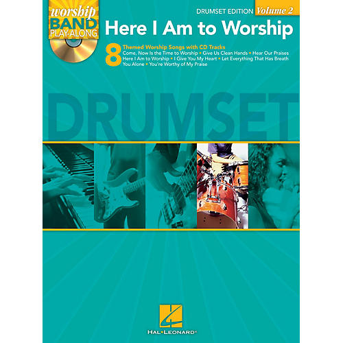 Hal Leonard Here I Am to Worship - Drums Edition Worship Band Play-Along Series Softcover with CD thumbnail