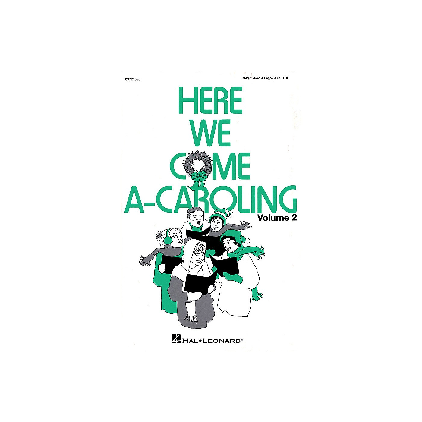 Hal Leonard Here We Come A-Caroling - Vol. 2 (Collection) 3-Part Mixed a cappella arranged by Linda Spevacek thumbnail