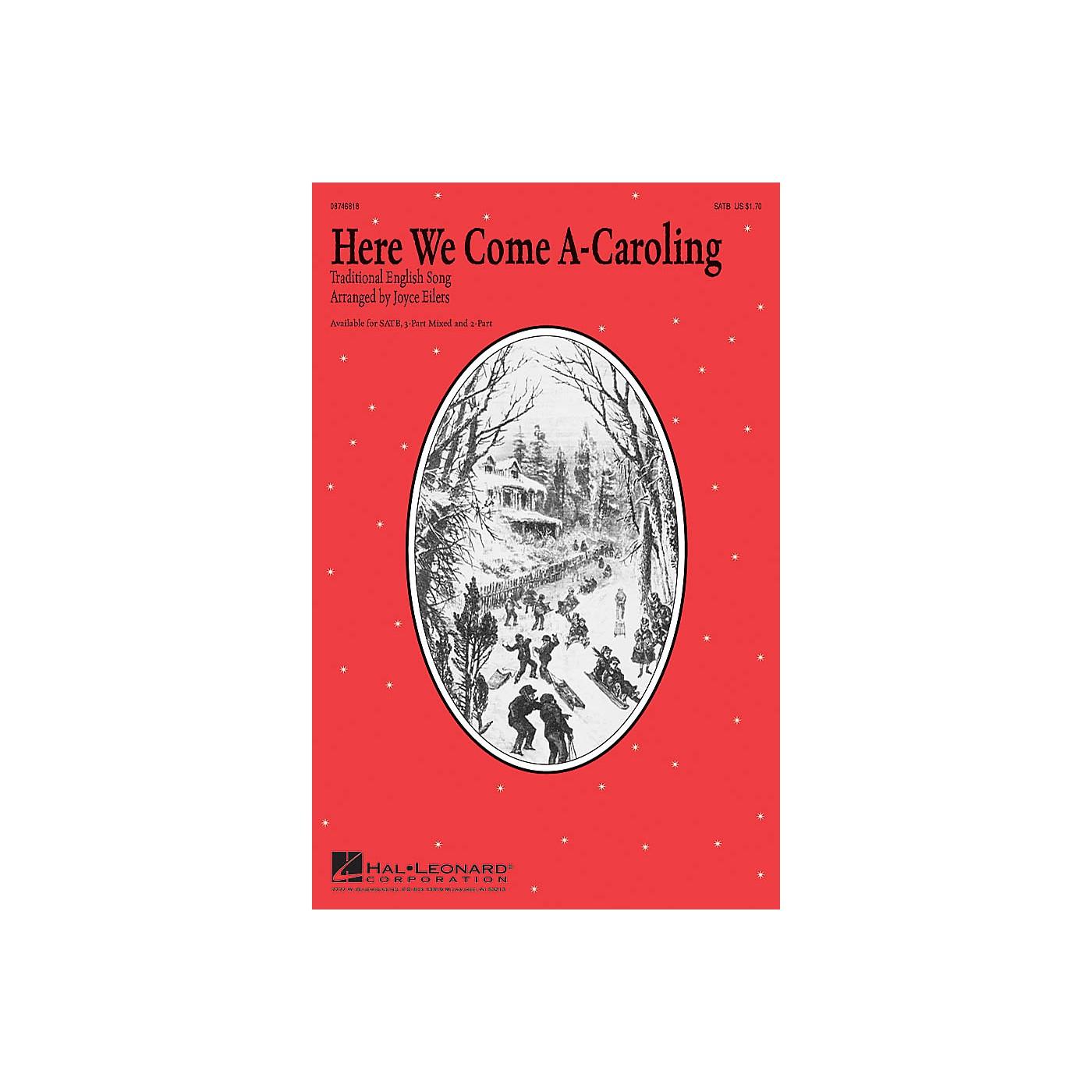 Hal Leonard Here We Come A-Caroling SATB arranged by Joyce Eilers thumbnail