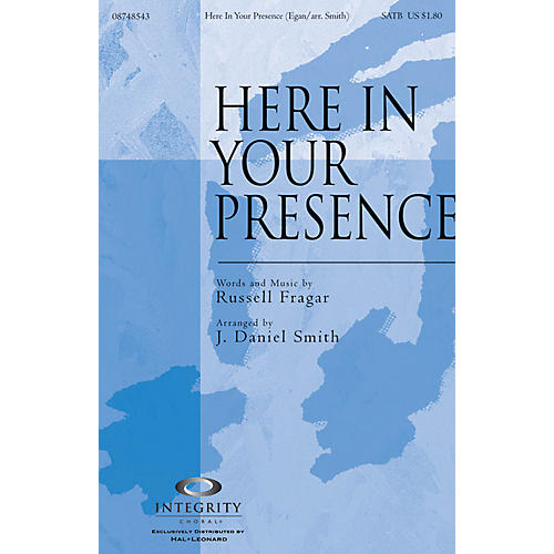 Integrity Music Here in Your Presence Accompaniment CD Arranged by J. Daniel Smith thumbnail