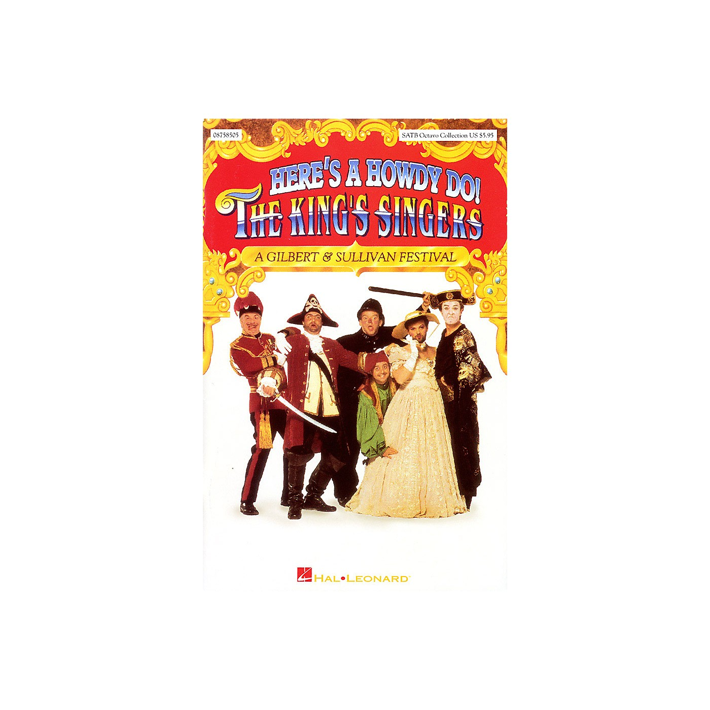 Hal Leonard Here's a Howdy Do! (Collection) SATB by The King's Singers composed by Gilbert & Sullivan thumbnail