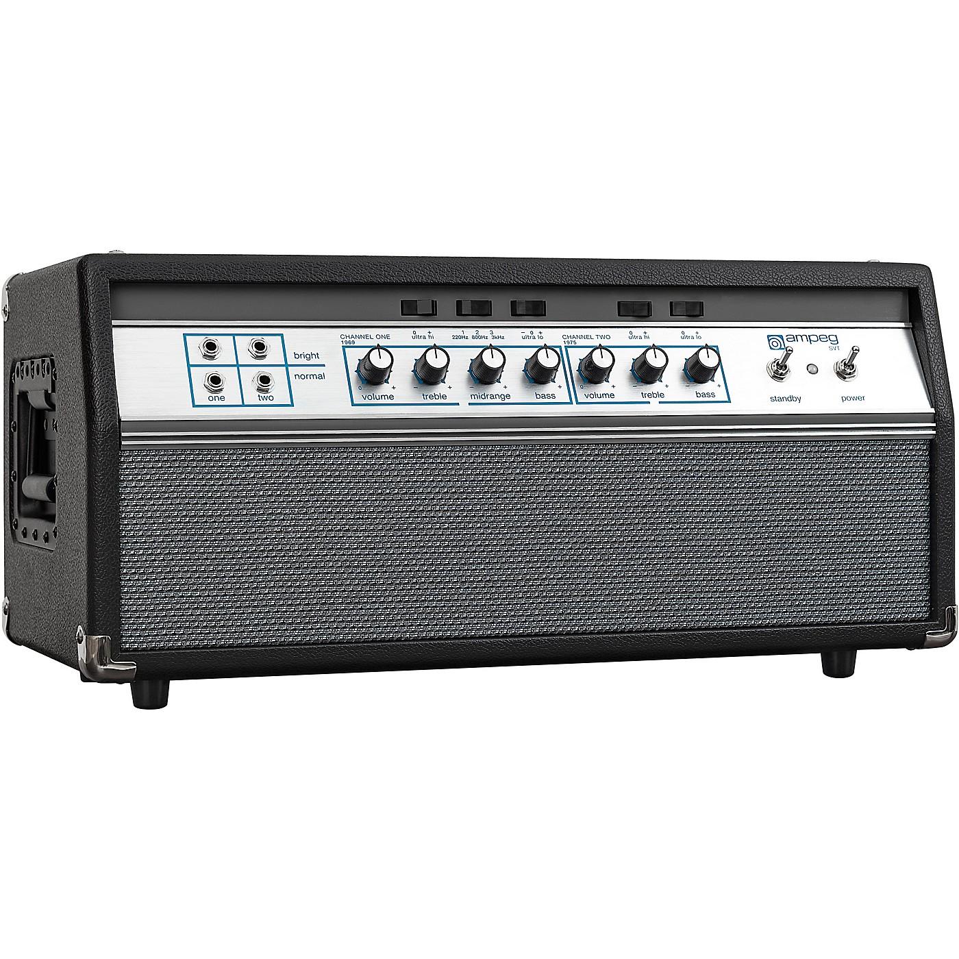 Ampeg Heritage 50th Anniversary SVT 300W Tube Bass Amp Head thumbnail