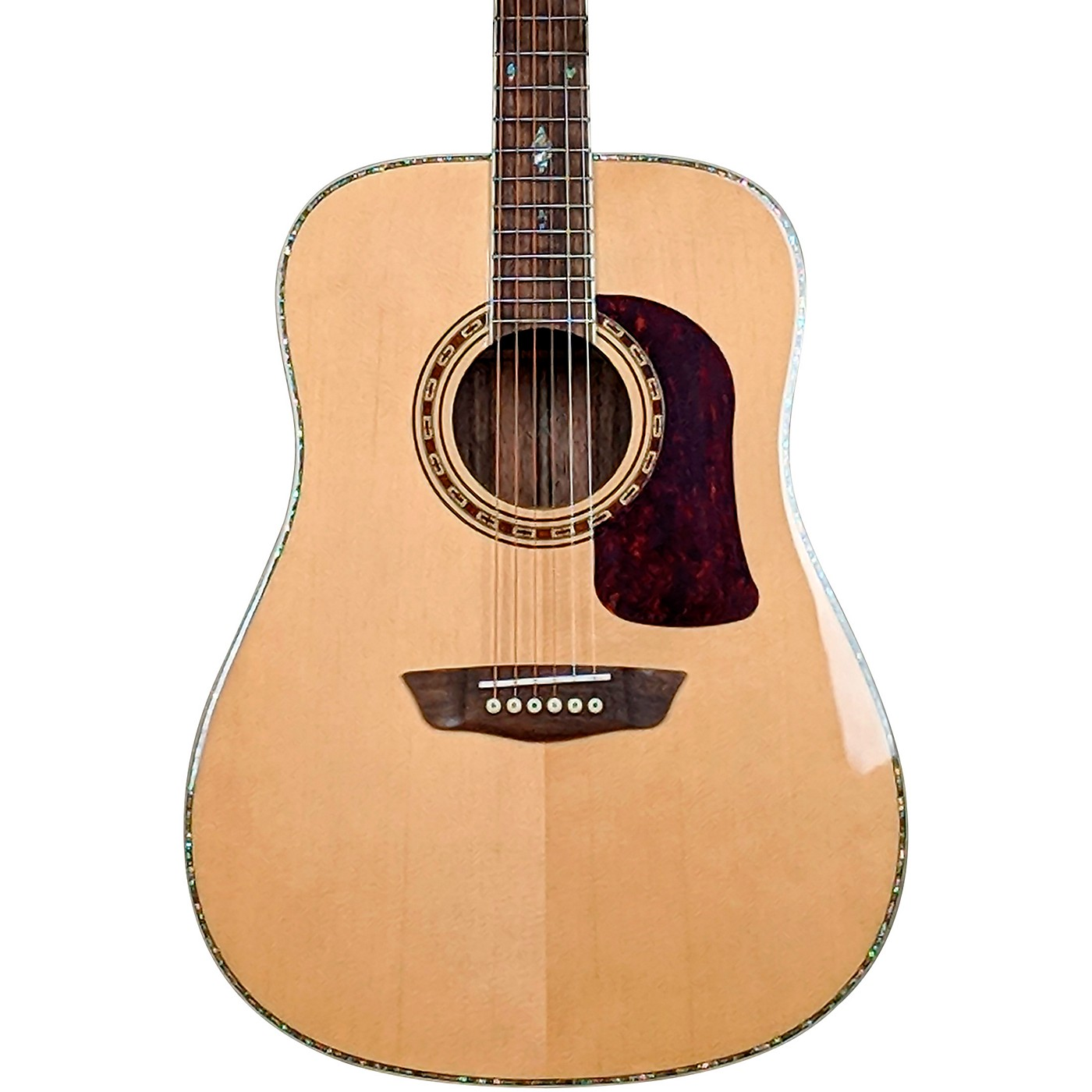 Washburn Heritage Elite HD80 Dreadnought Acoustic Guitar thumbnail