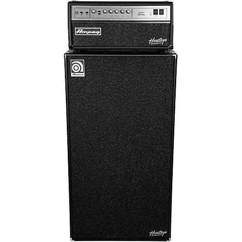 Ampeg Heritage SVT-CL 300W Tube Bass Amp Head with 8x10 800W Bass Speaker Cab thumbnail