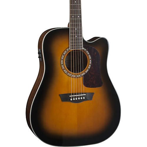 Washburn Heritage Series HD10SCE Acoustic-Electric Cutaway Dreadnought Guitar thumbnail