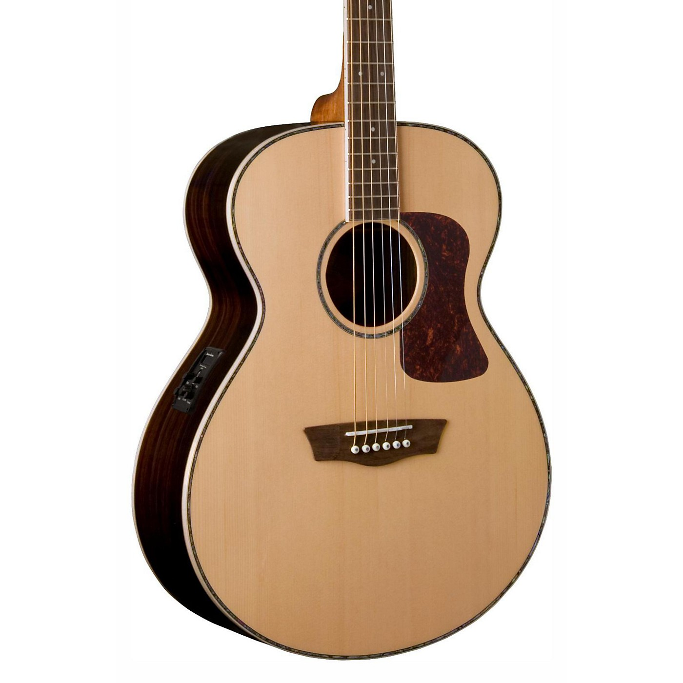 Washburn Heritage Series HG27SE-U Grand Auditorium Acoustic-Electric Guitar thumbnail