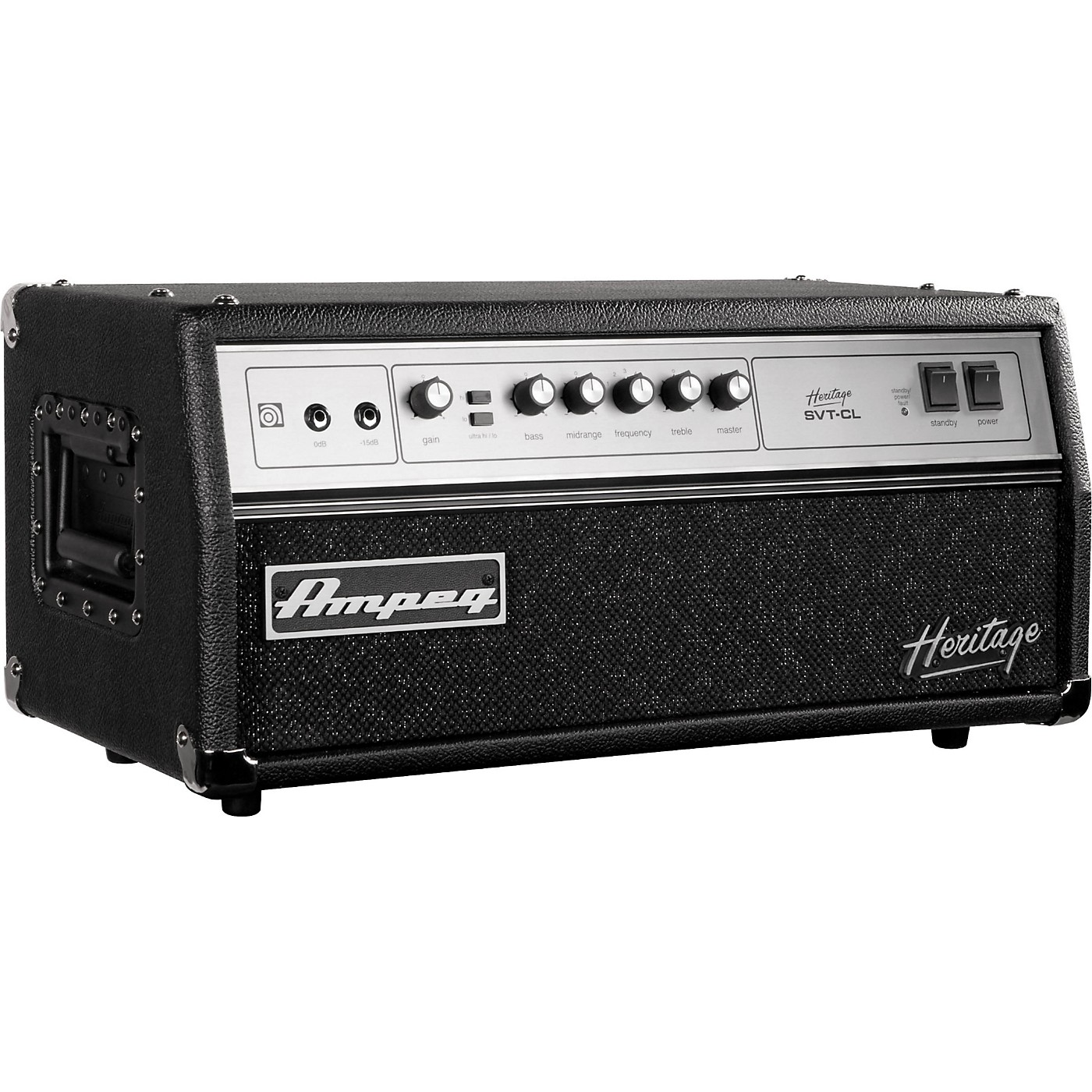 Ampeg Heritage Series SVT-CL 2011 300W Tube Bass Amp Head thumbnail