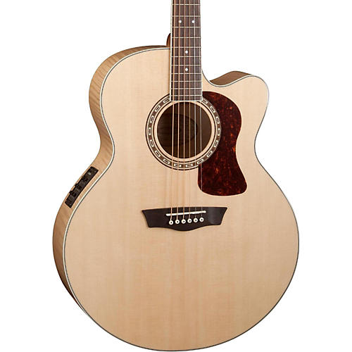 Washburn Heritage Series USM-HJ40SCE Jumbo Acoustic-Electric Guitar thumbnail
