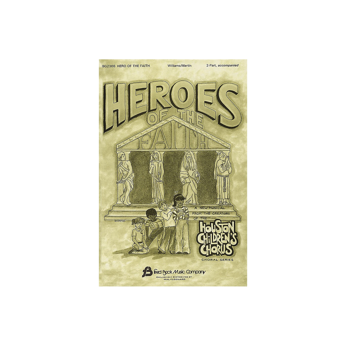 Fred Bock Music Hero of the Faith 2-Part composed by J. Paul Williams thumbnail