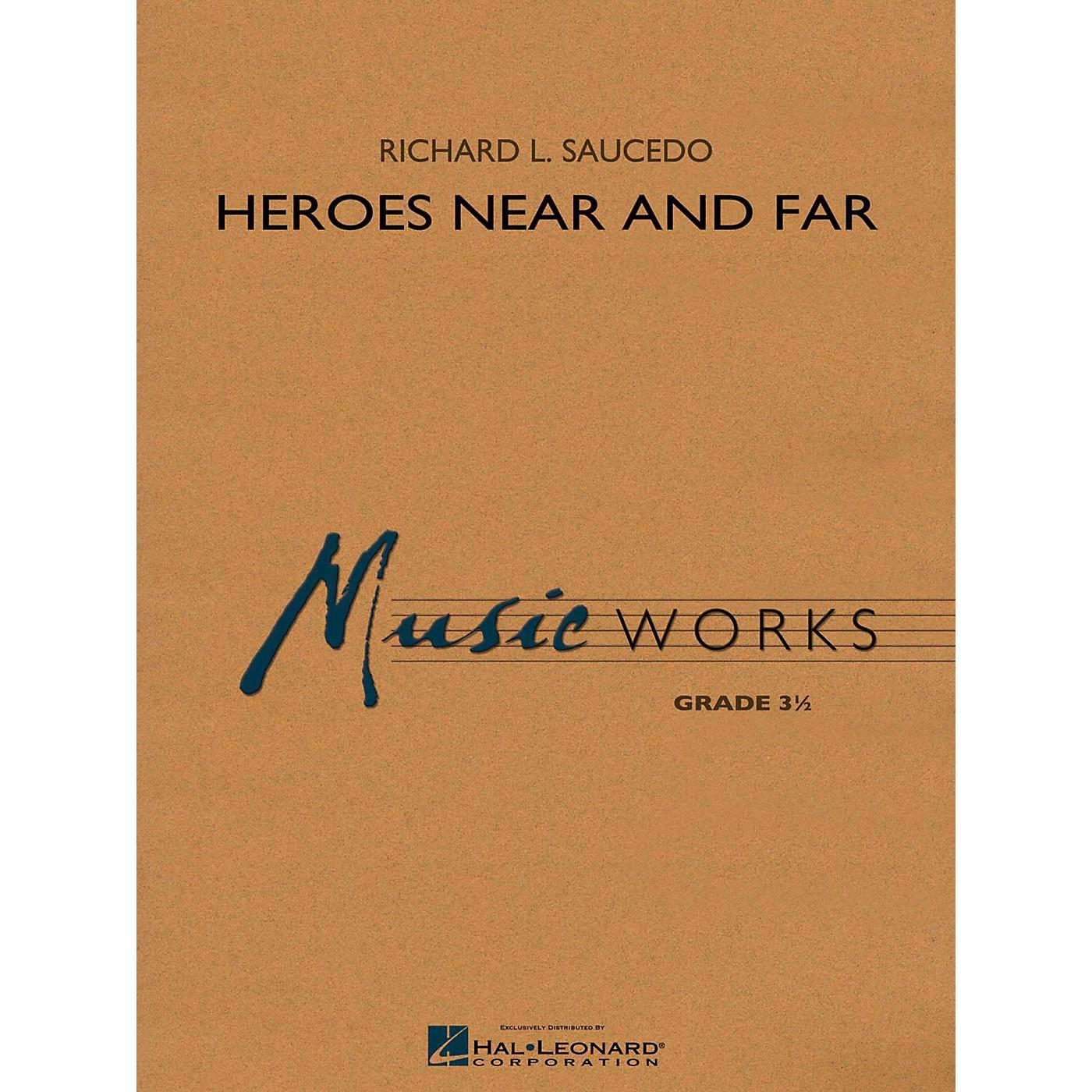 Hal Leonard Heroes Near and Far Concert Band Level 3 thumbnail