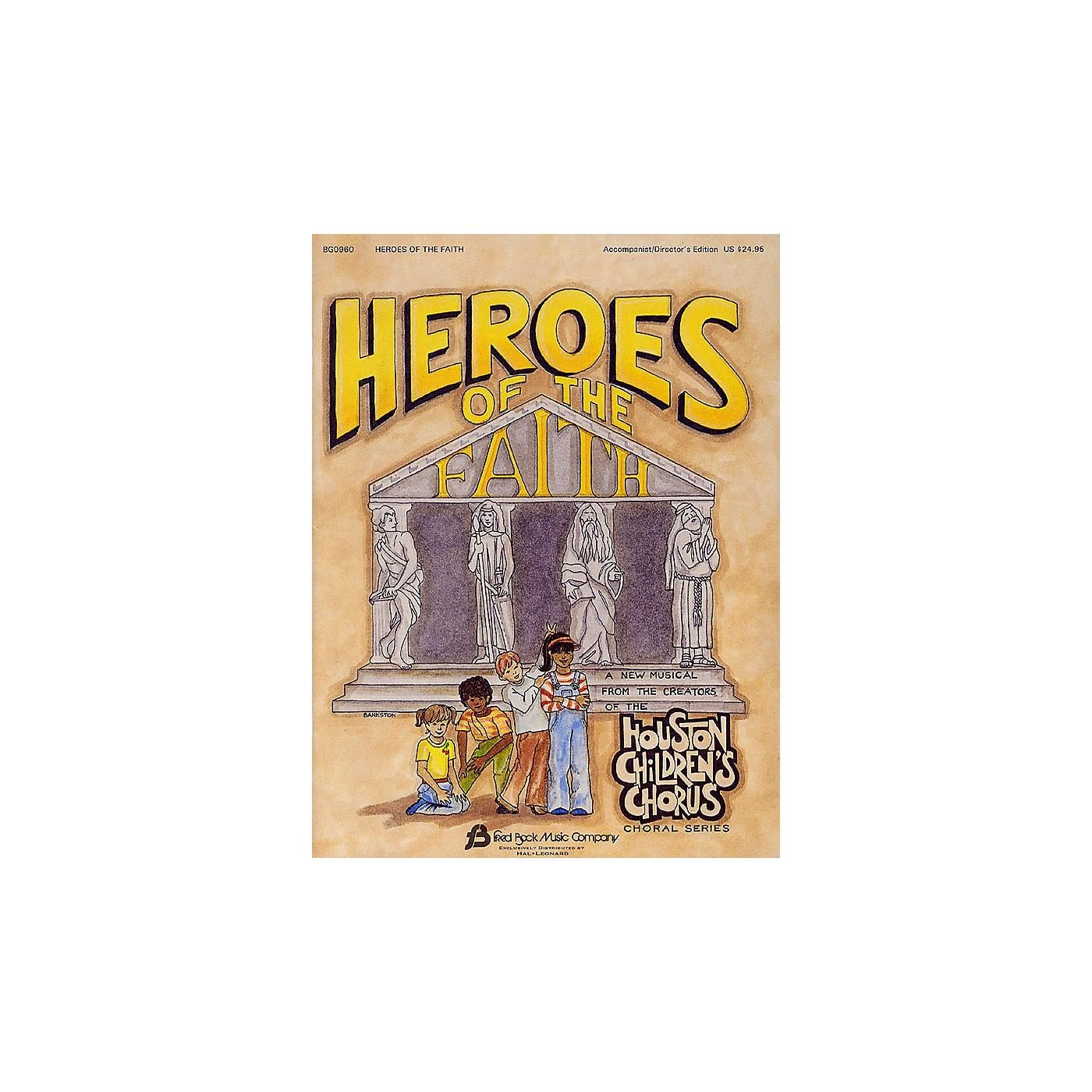 Fred Bock Music Heroes of the Faith (Sacred Children's Musical) PREV CD Arranged by (Houston Children's Choir Series) thumbnail