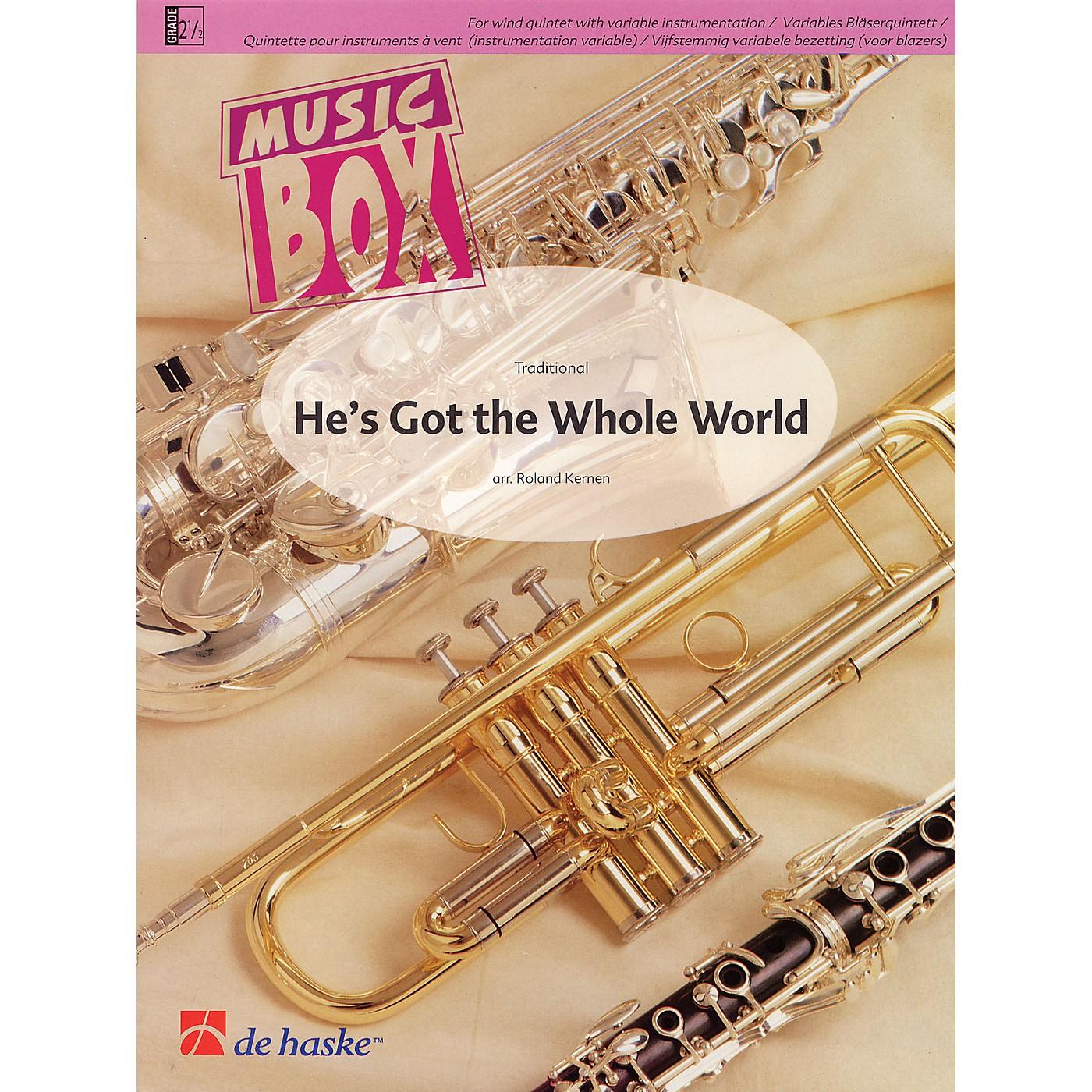 De Haske Music He's Got the Whole World Concert Band Level 2.5 Arranged by Roland Kernen thumbnail