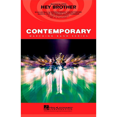 Hal Leonard Hey Brother - Pep Band/Marching Band Level 3 thumbnail