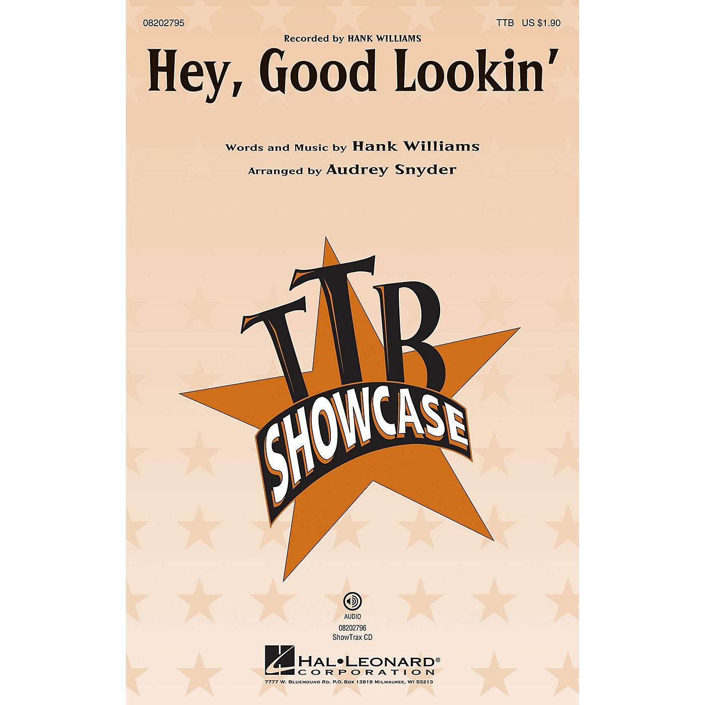 Hal Leonard Hey, Good Lookin' TTB by Hank Williams ...