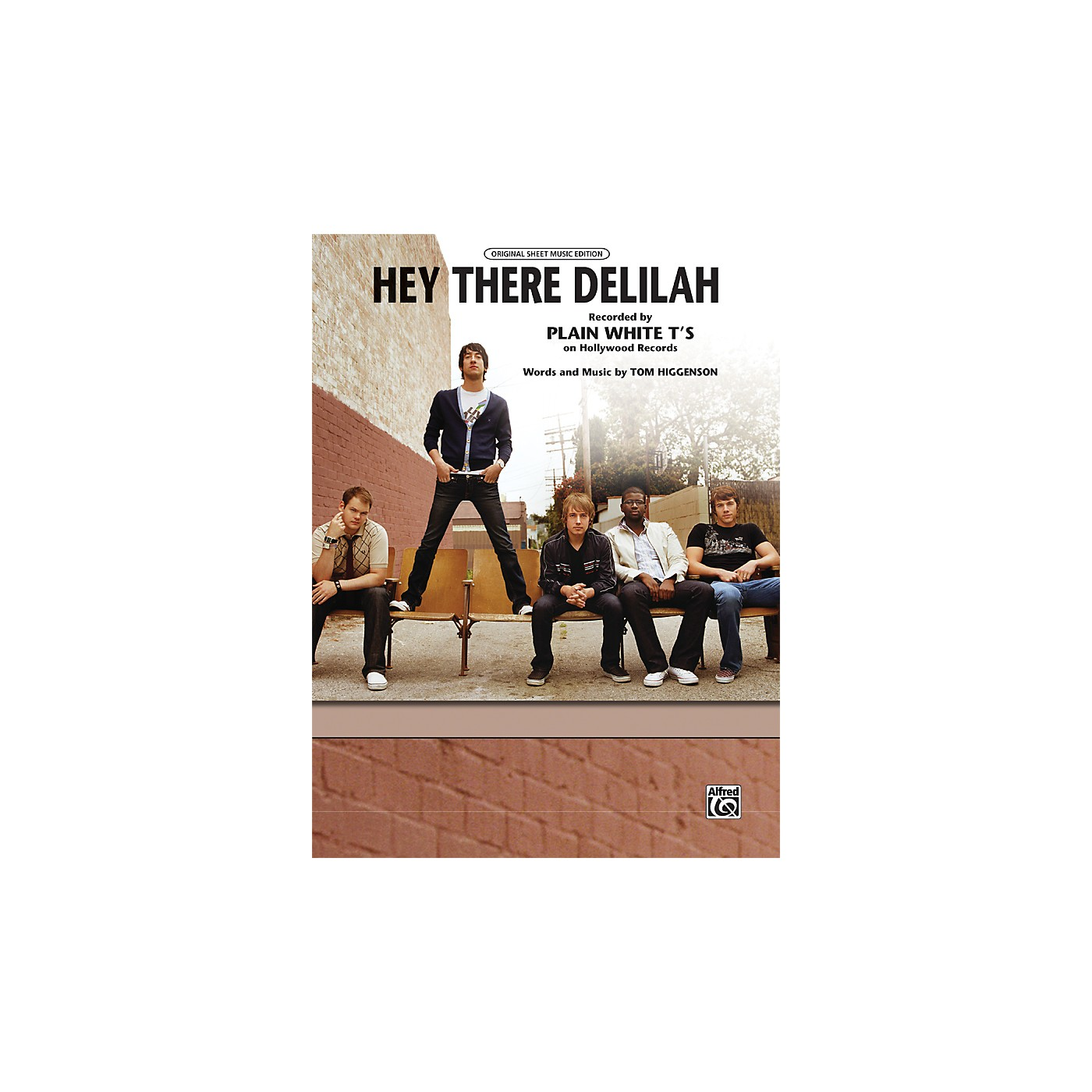 Alfred Hey There Delilah Piano/Vocal/Chords Sheet thumbnail