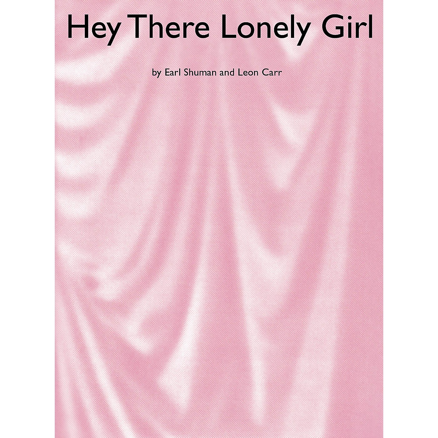 Music Sales Hey There Lonely Girl Music Sales America Series thumbnail