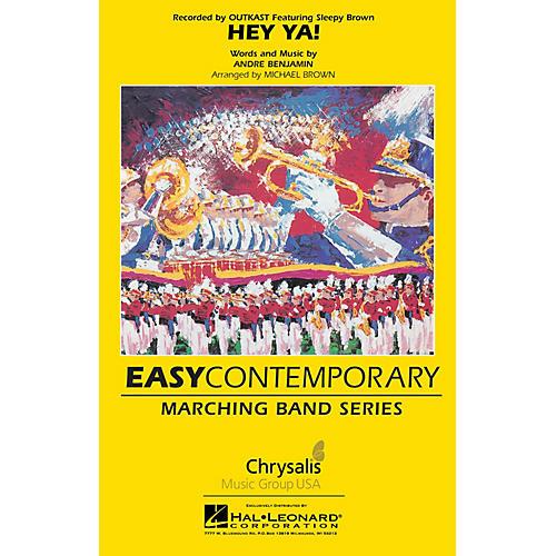 Hal Leonard Hey Ya! Marching Band Level 2 Arranged by Michael Brown thumbnail