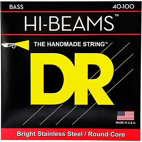 DR Strings Hi-Beams Lite 4-String Bass Strings thumbnail