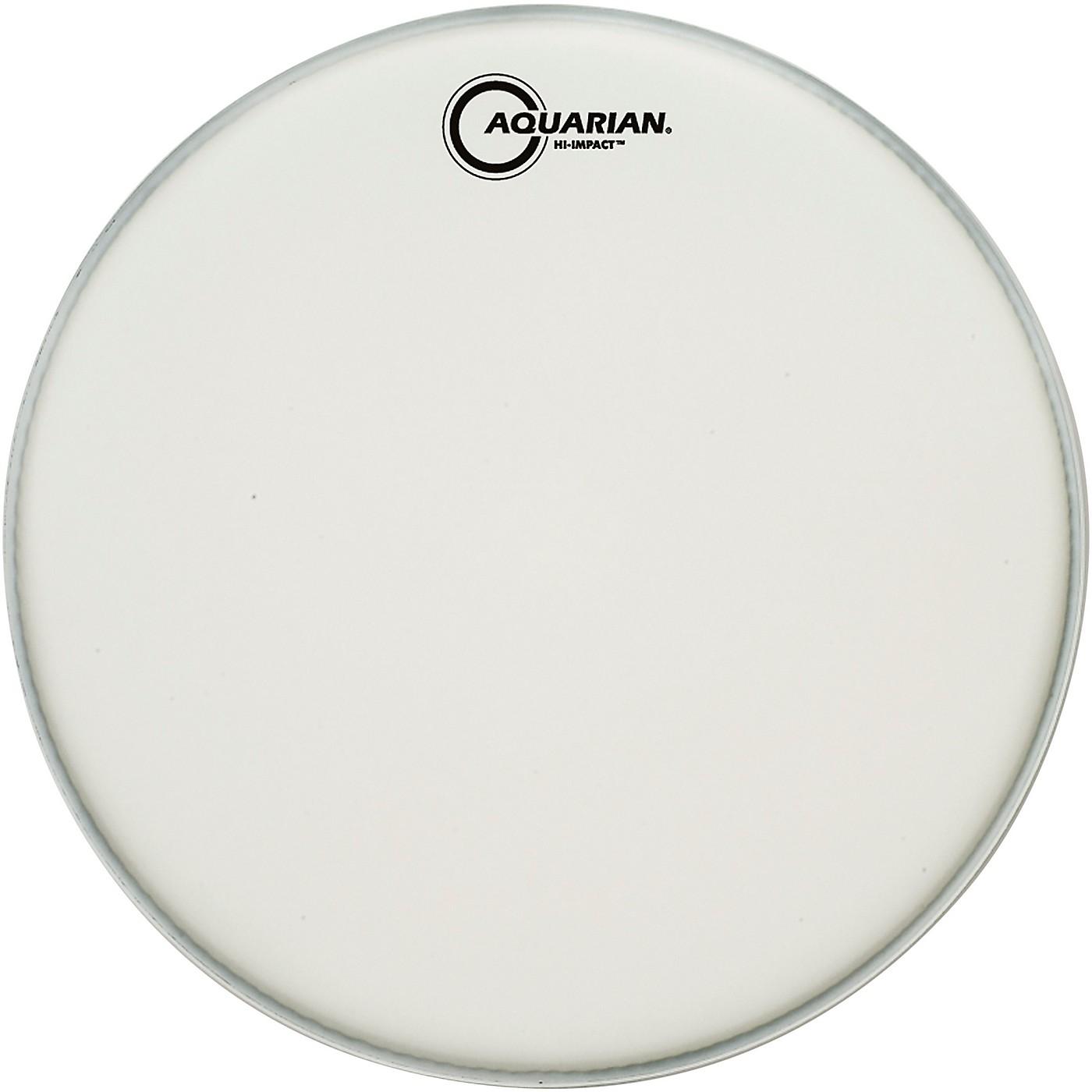 Aquarian Hi-Impact Snare White Snare Drum Head thumbnail