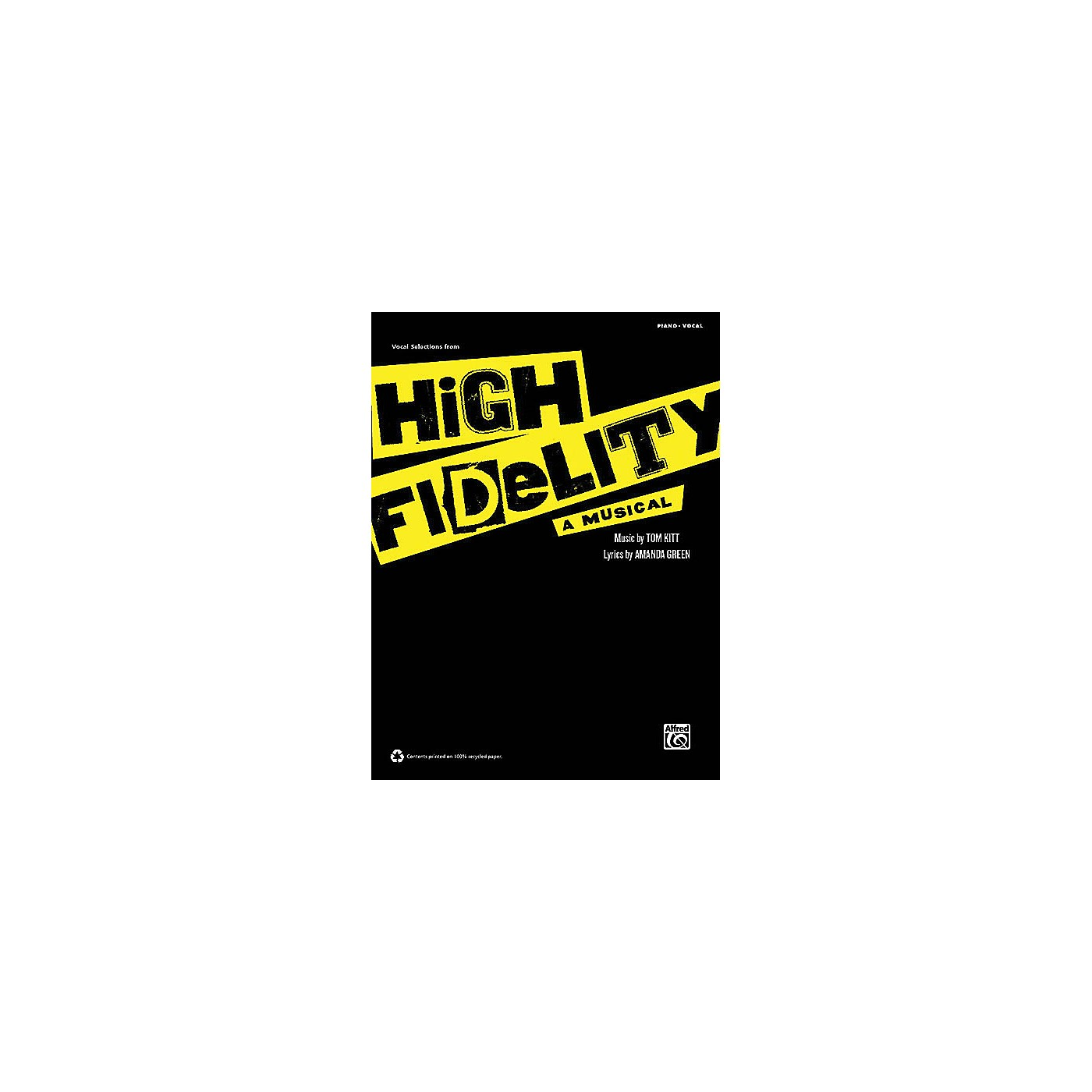 Alfred High Fidelity - A Musical (Vocal Selections) Vocal Selections Series Softcover thumbnail
